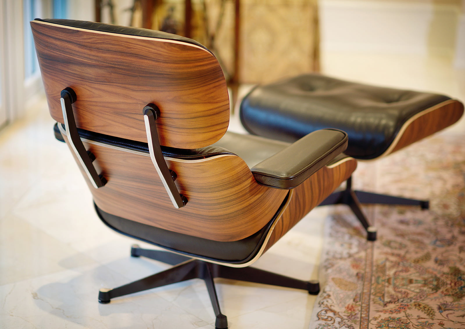Vitra Lounge Chair Replica eames chairs | eames lounge chair with ottoman - furnishplus