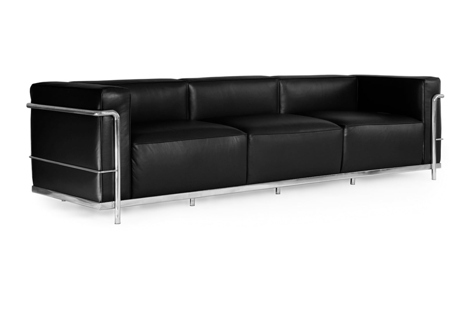 le corbusier reproduction lc3 sofa furnishplus. Black Bedroom Furniture Sets. Home Design Ideas