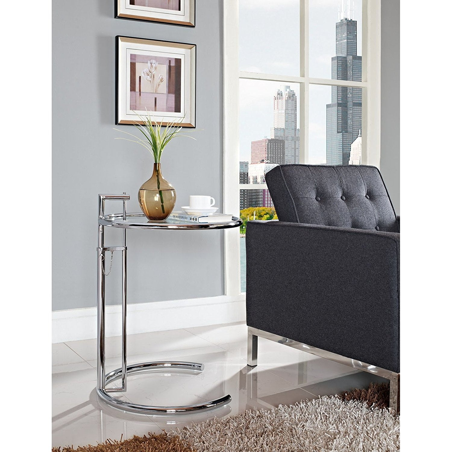 Eileen Gray Side Table Premium Furnish Plus
