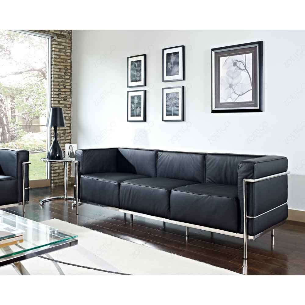 le corbusier lc2 sofa reproduction i le corbusier i vancouver. Black Bedroom Furniture Sets. Home Design Ideas