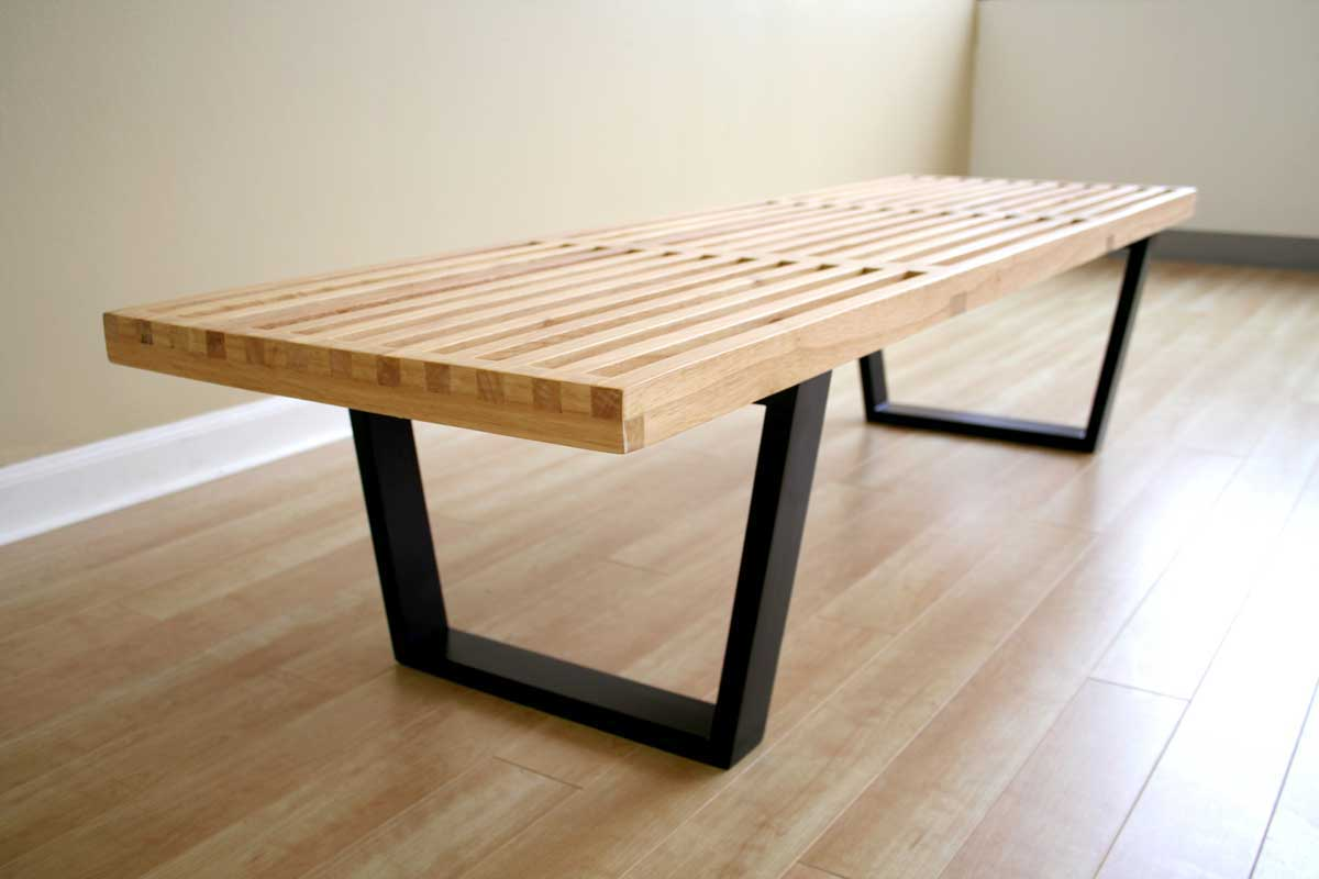 indoor material modern bench palquest in contemporary wood recovered