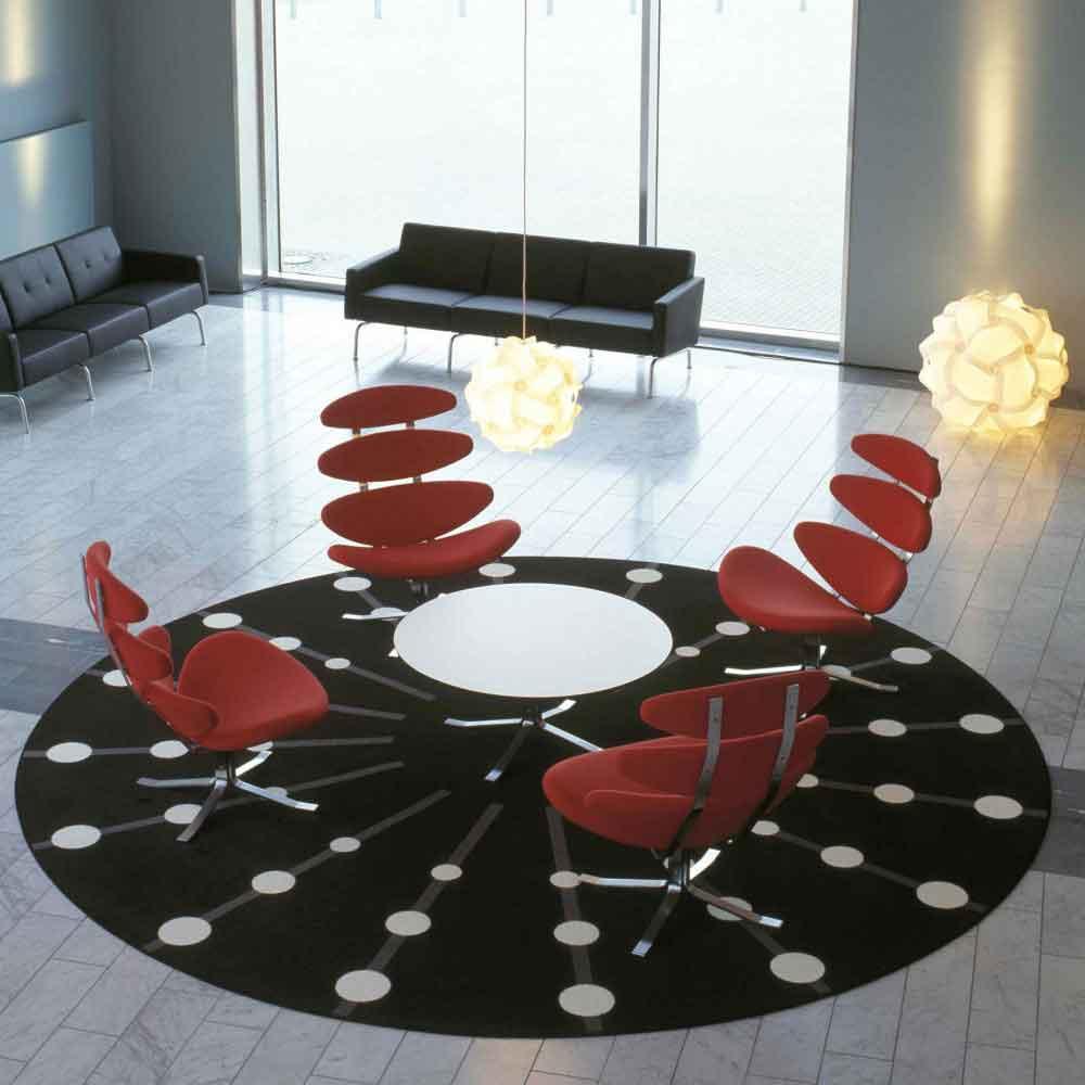 black corona chair replica by FurnishPlus