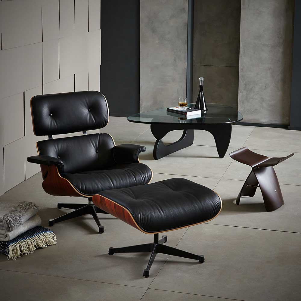 eames lounge chair reproduction mid century modern. Black Bedroom Furniture Sets. Home Design Ideas