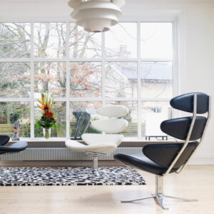 black corona chair replica by FurnishPlus