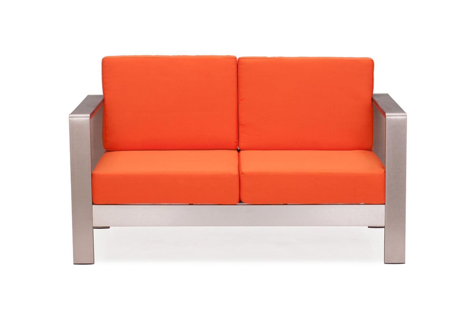 Cosmopolitan Sofa Cushions Orange Furnishplus