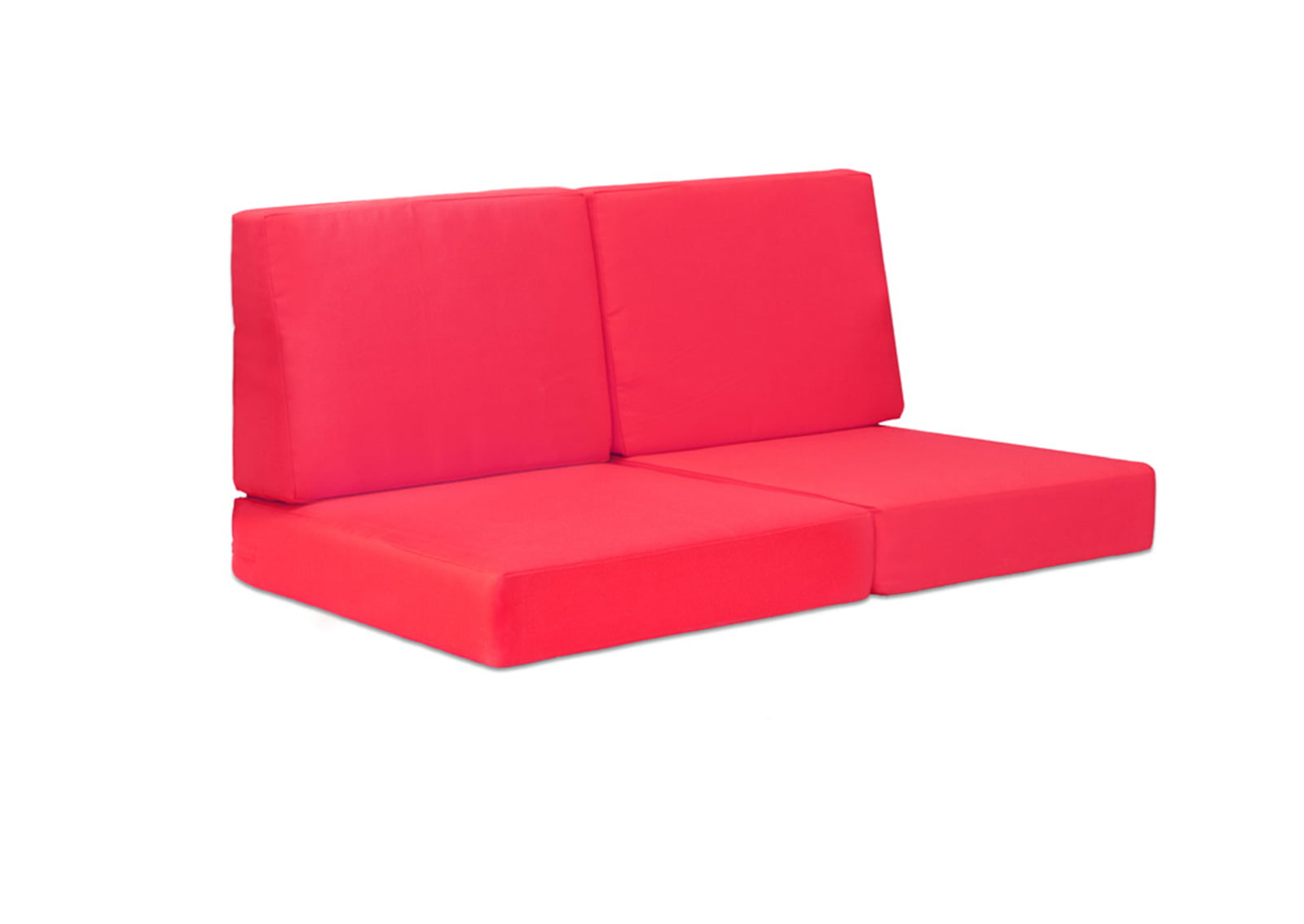 Cosmopolitan Sofa Cushions Red FurnishPlus