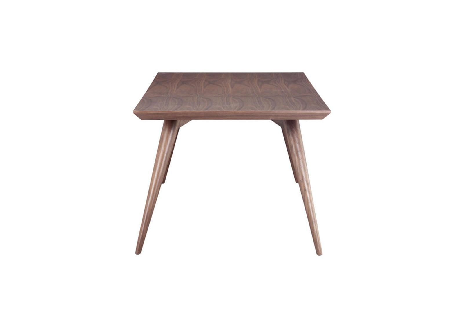 stockholm dining table walnut furnishplus. Black Bedroom Furniture Sets. Home Design Ideas