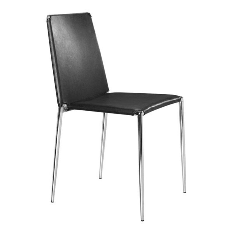 Alex Dining Chair Black1 Furnishplus