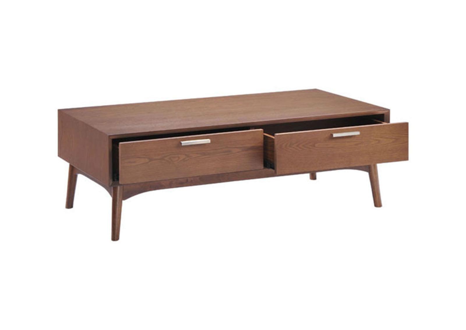 Design district coffee table walnut furnishplus for Walnut coffee table