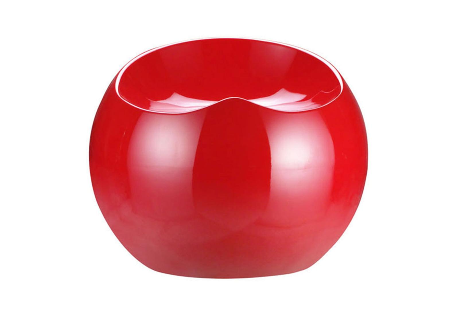 Drop Stool Red Furnishplus