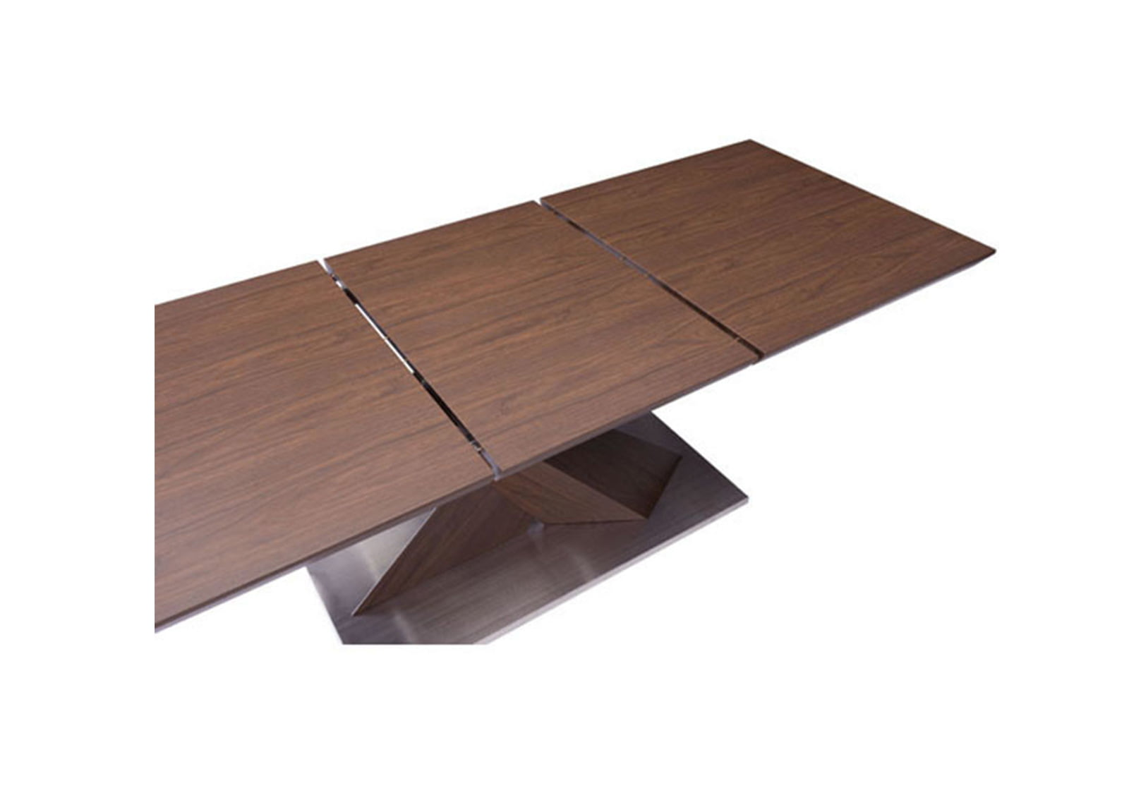 Jaques extension dining table walnut furnishplus for Extension dining table