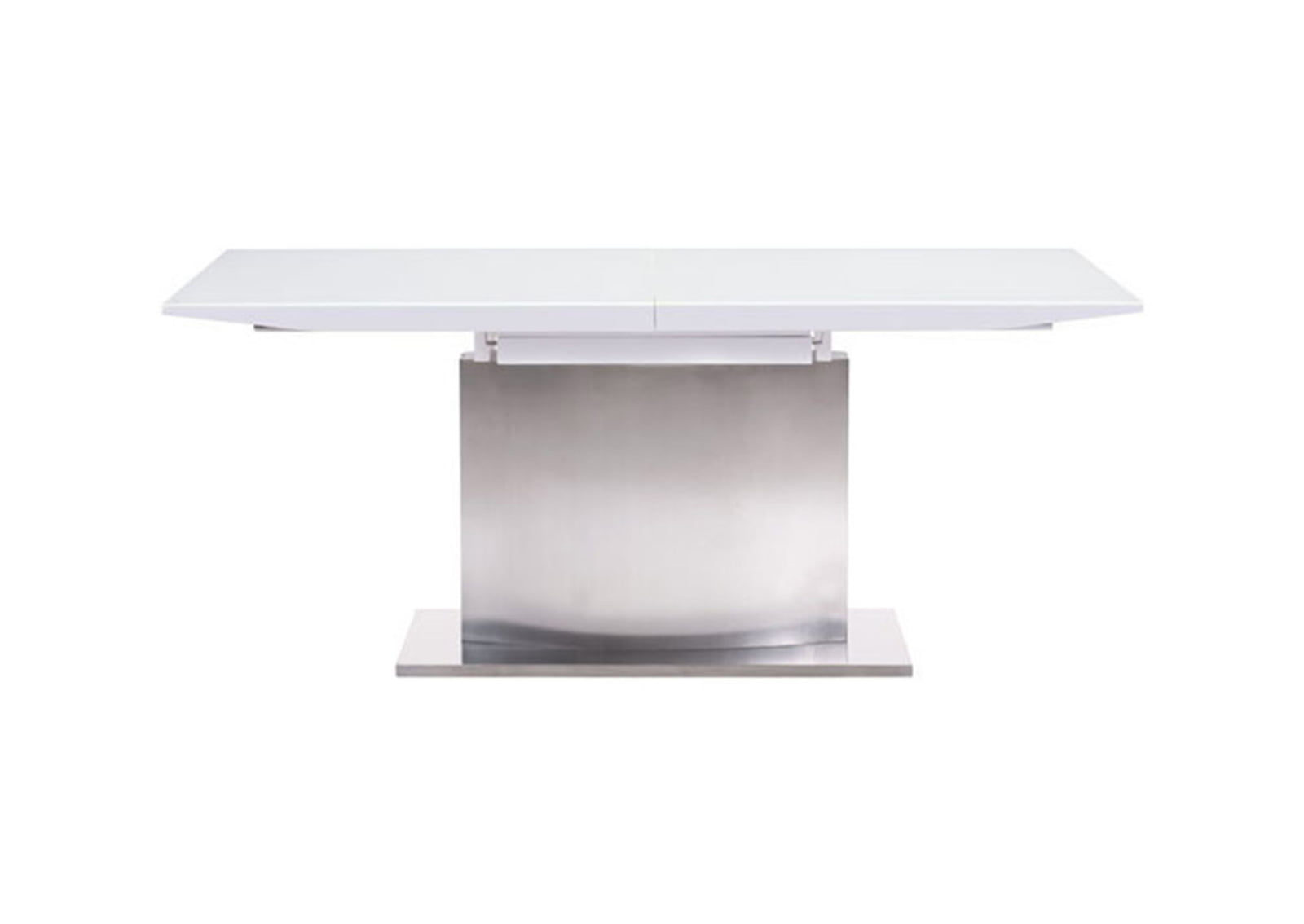 Pierrefronds Extension Dining Table White Furnishplus
