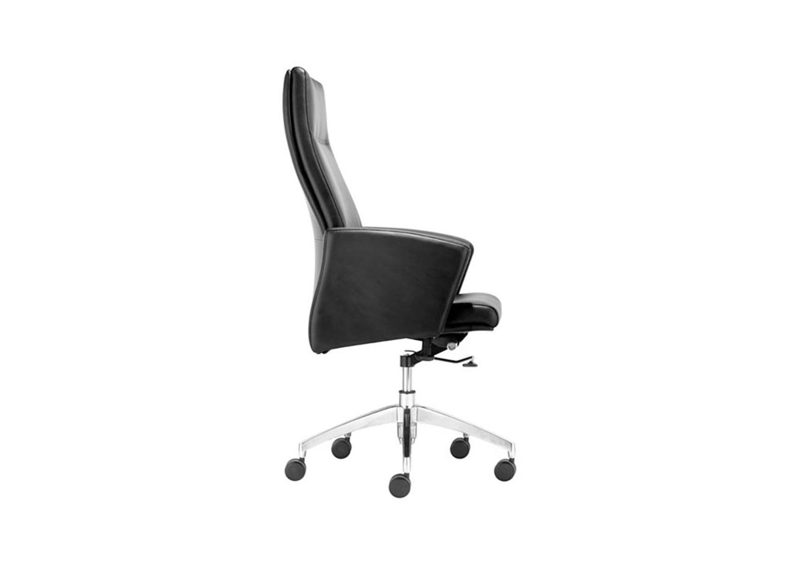 Chieftain High Back Office Chair Black Furnishplus