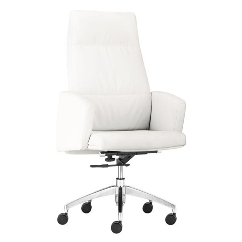 Chieftain High Back Office Chair White Furnishplus