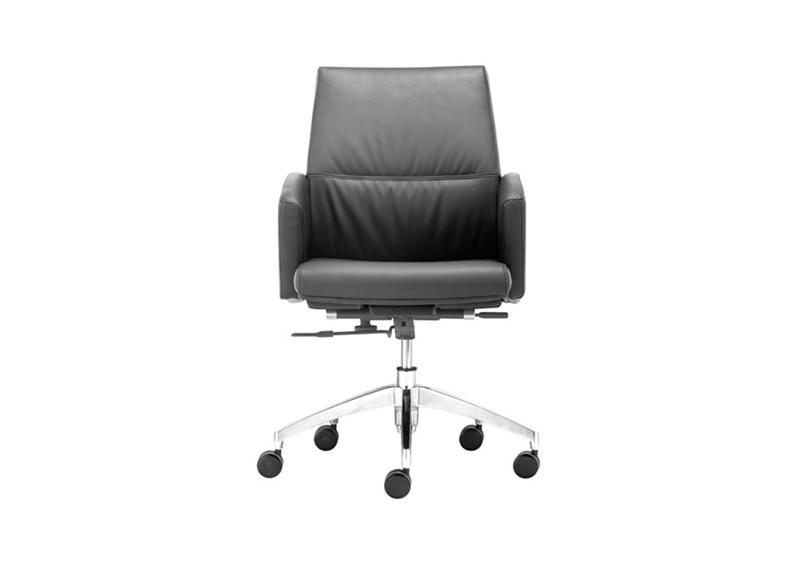 Chieftain Low Back Office Chair Black FurnishPlus