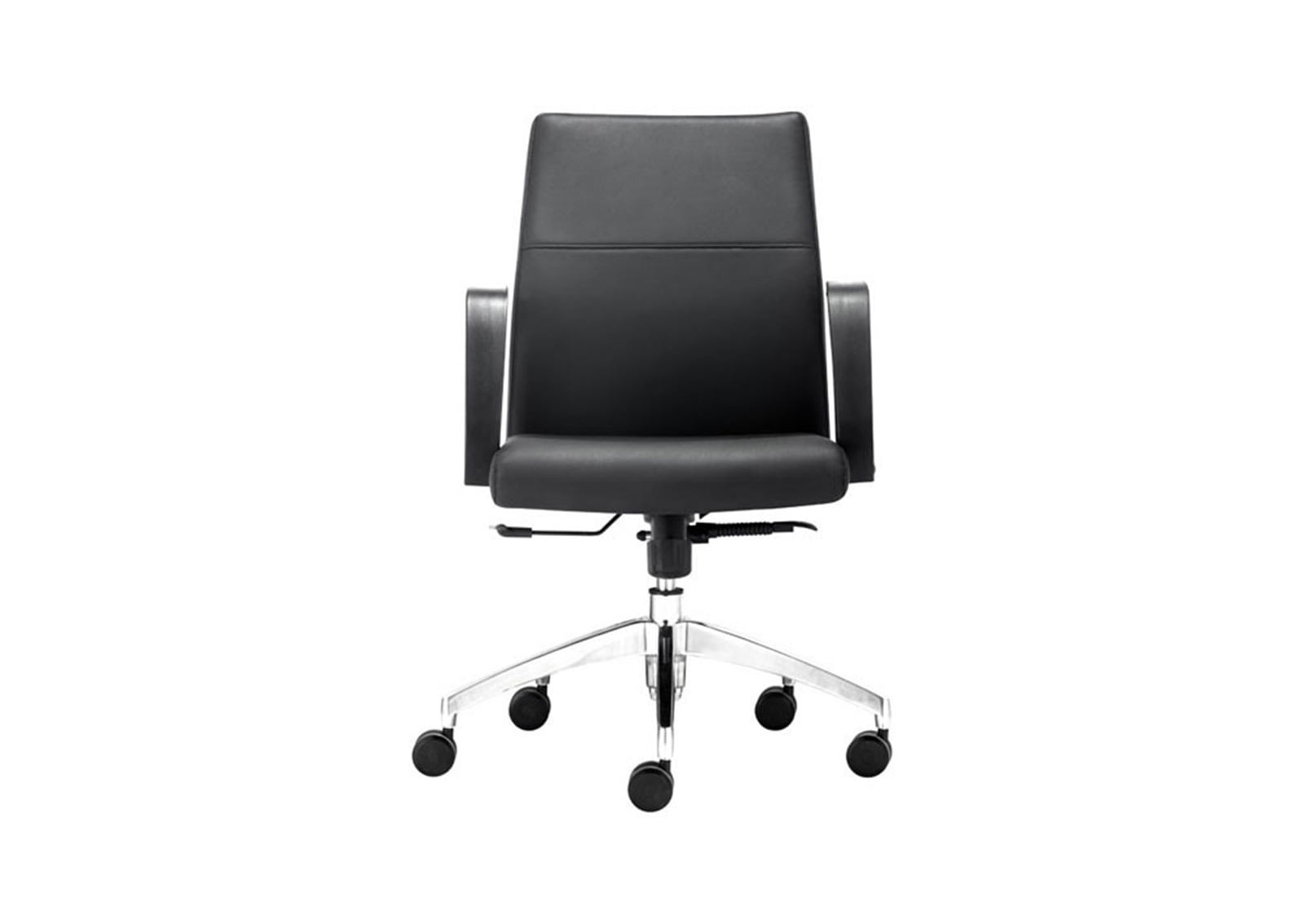 Conductor Low Back Office Chair Black FurnishPlus
