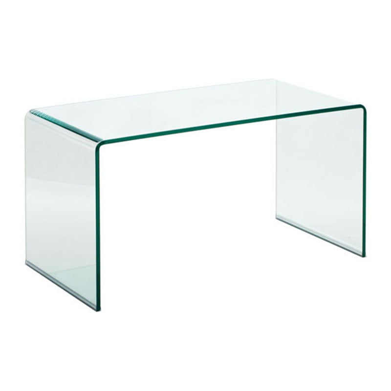 Course coffee table clear furnishplus for Clear coffee table