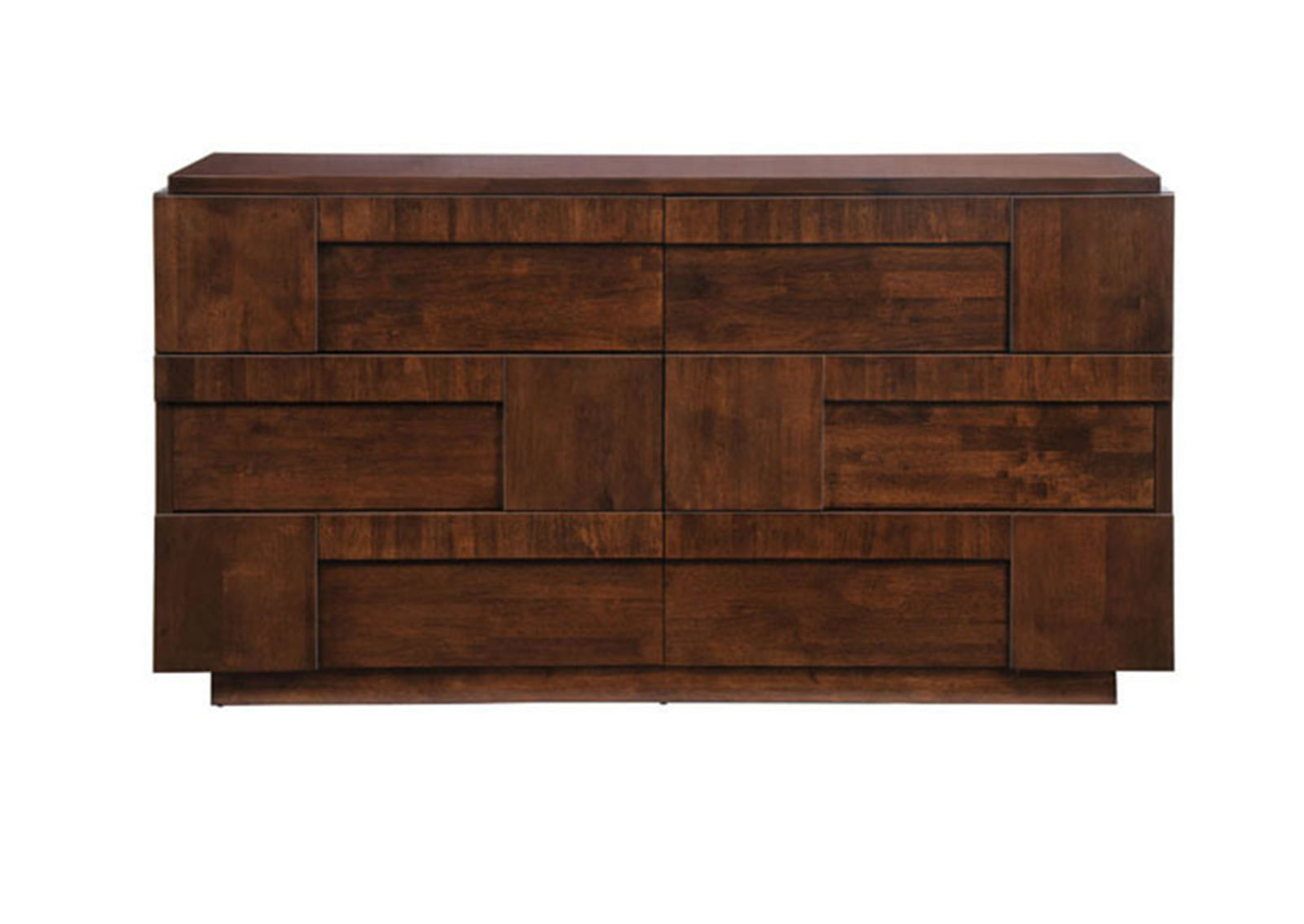 San Diego Double Dresser Walnut Furnishplus