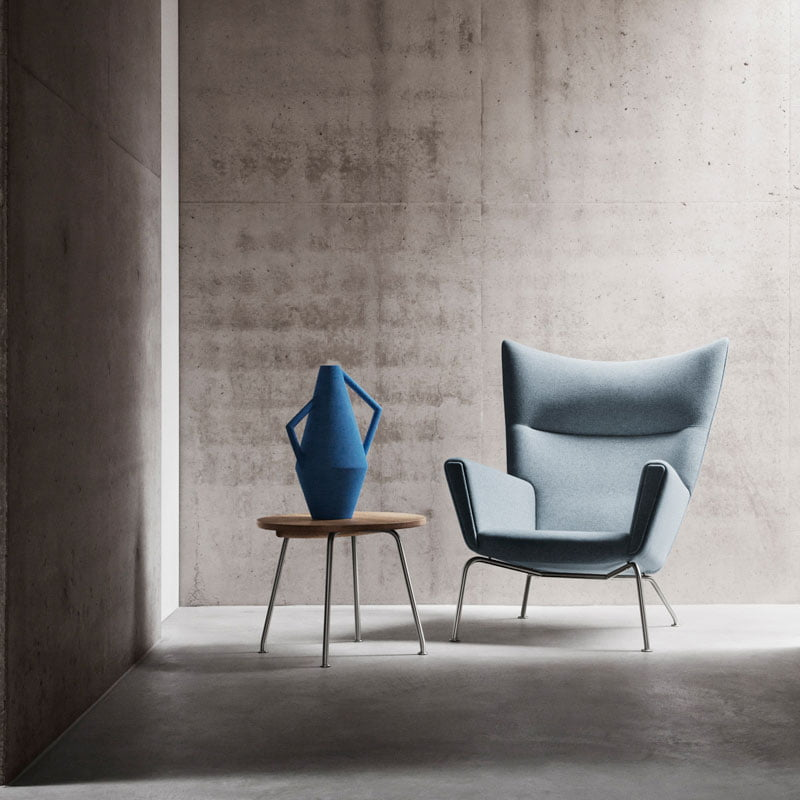 Hans wegner wing chair furnishplus - Wegner wing chair replica ...
