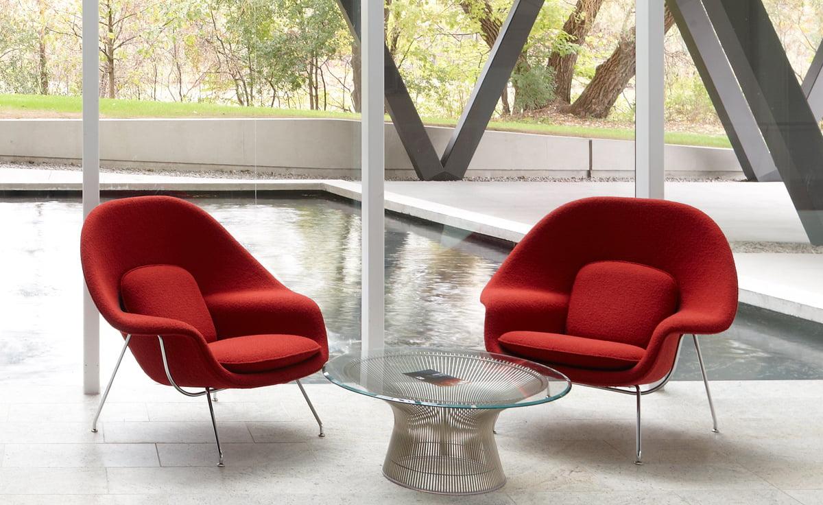 Womb chair living room - Womb Chair By Eero Saarinen From Furnishplus