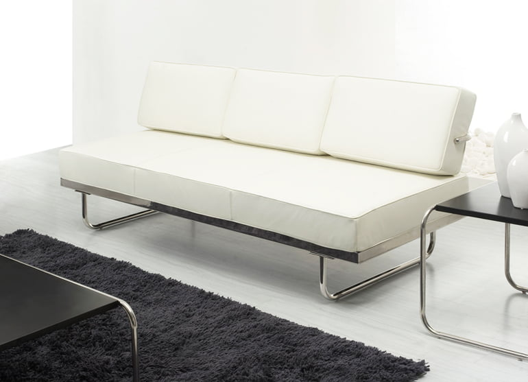 Awesome White Le Corbusier Lc5 Sofa Daybed 174