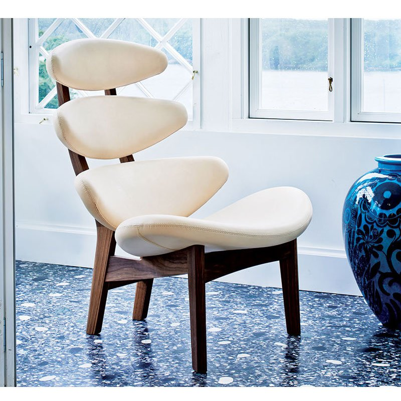 poul volther ej5 corona wood frame chair