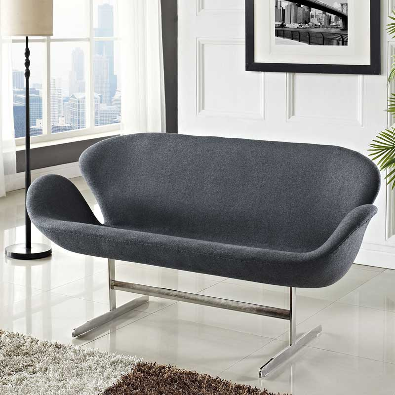 swan chair by arne jacobsen nicely restored early arne. Black Bedroom Furniture Sets. Home Design Ideas