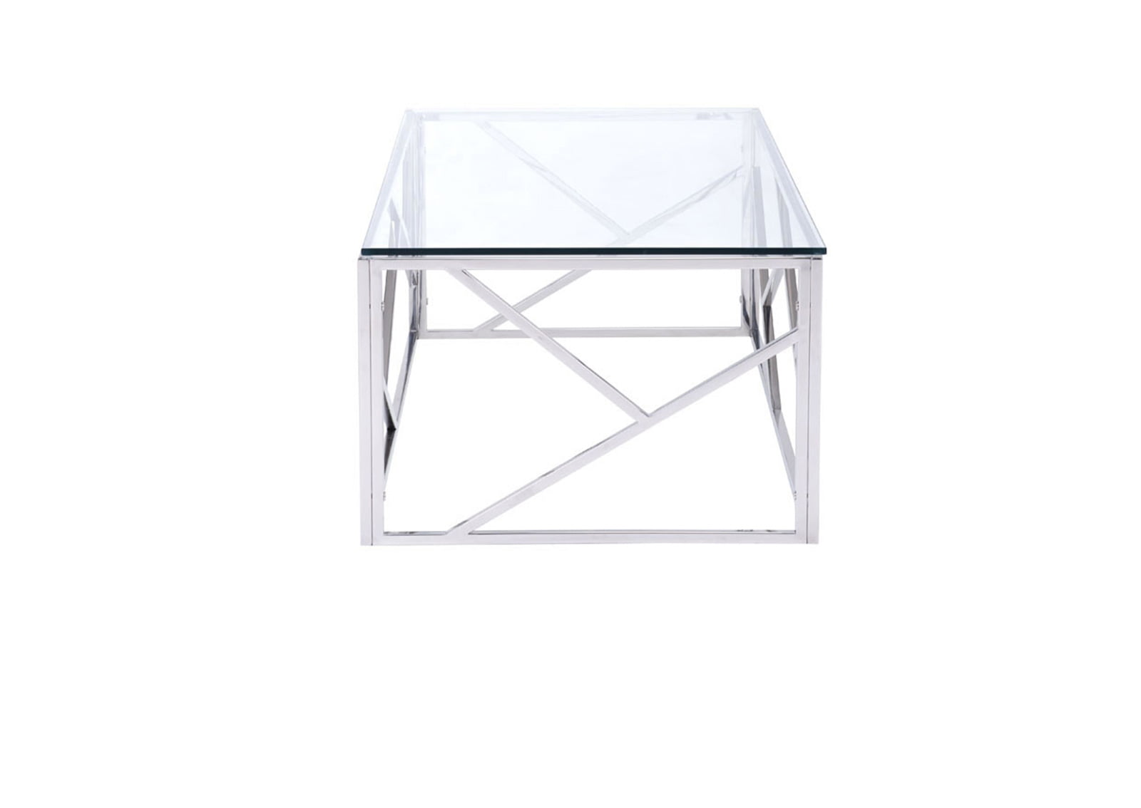 Cage Coffee Table Stainless Steel
