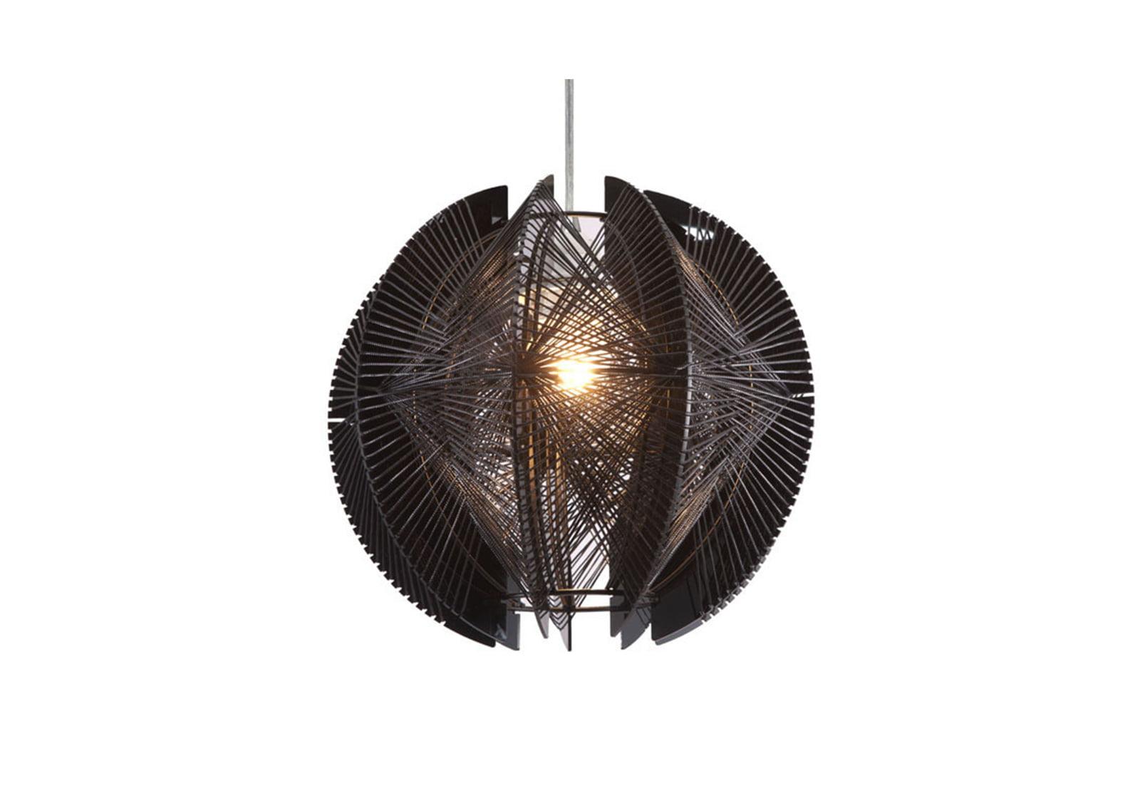 Centari Single Ceiling Lamp Black Furnishplus