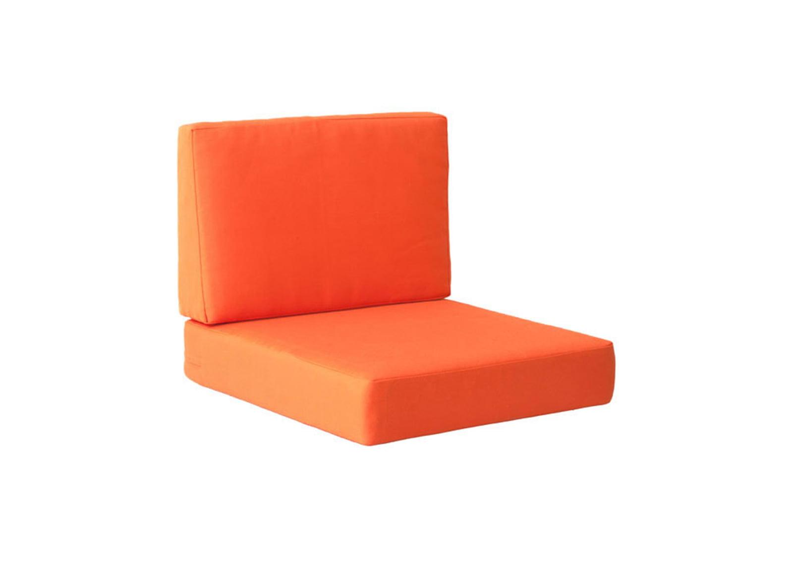 Cosmopolitan Arm Chair Cushion Orange Furnishplus