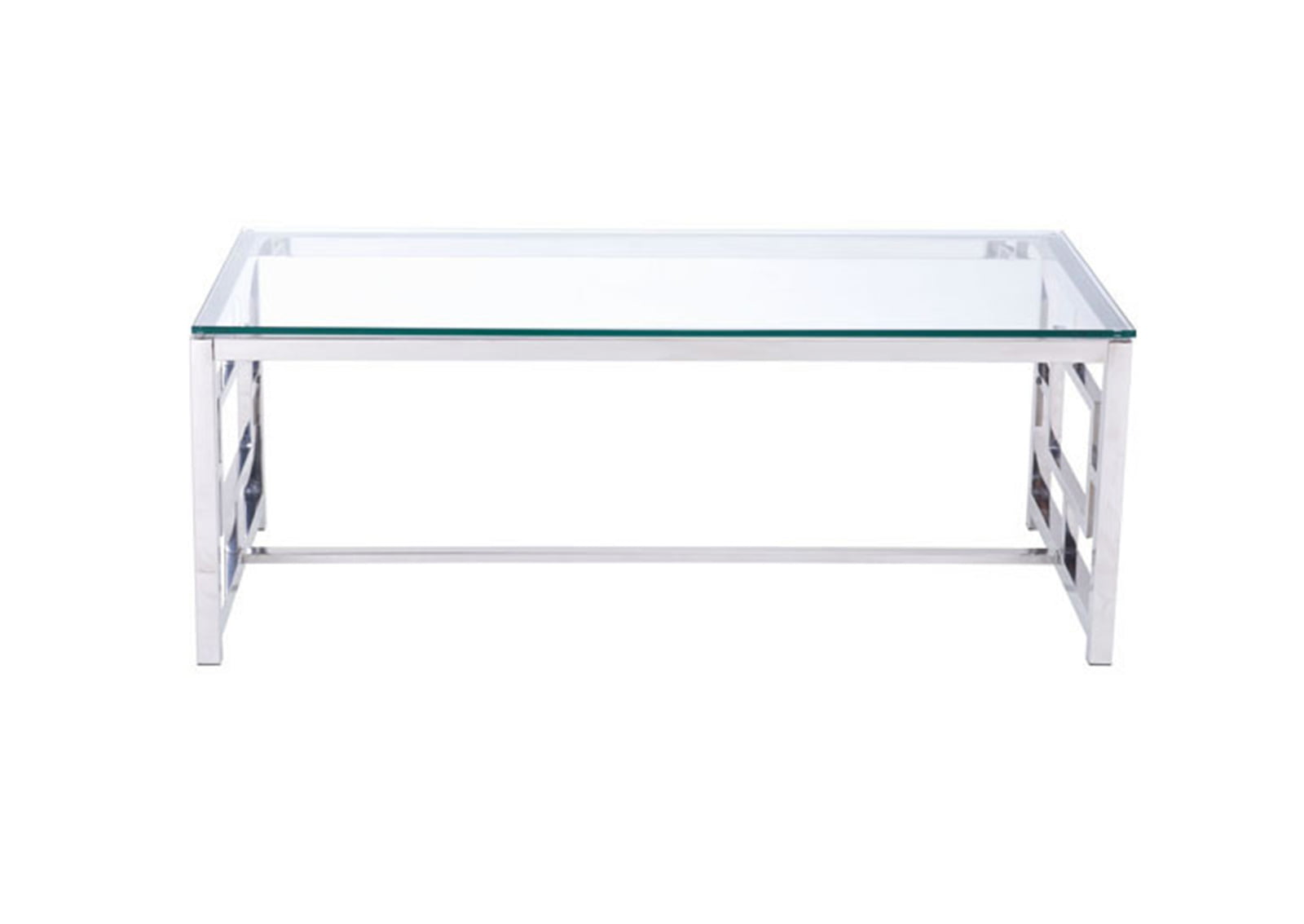 Geranium Coffee Table Stainless Steel Furnishplus
