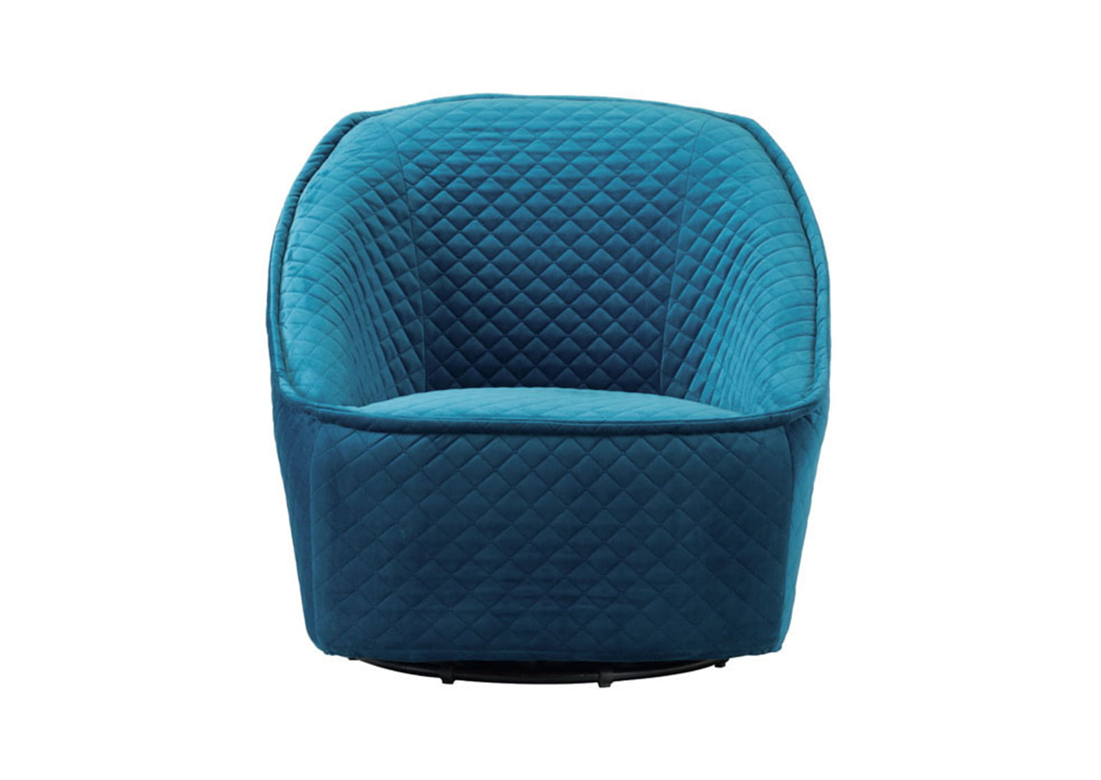 Pug Swivel Chair Aquamarine Furnishplus