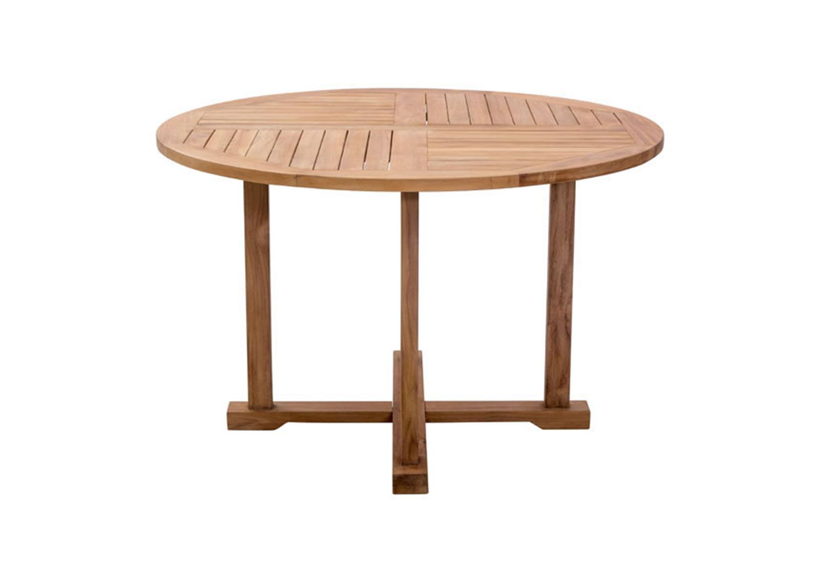 regatta dining table natural furnishplus. Black Bedroom Furniture Sets. Home Design Ideas