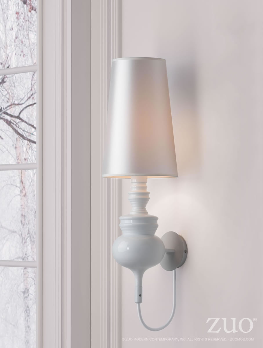 Wall Lamps White : Idea Wall Lamp White FurnishPlus