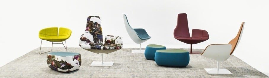 Fjord Relax Armchair by Patricia Urquiola
