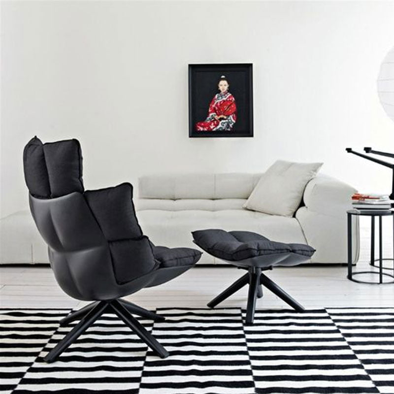 B&B Husk Swivel Chair | Patricia Urquiola Style