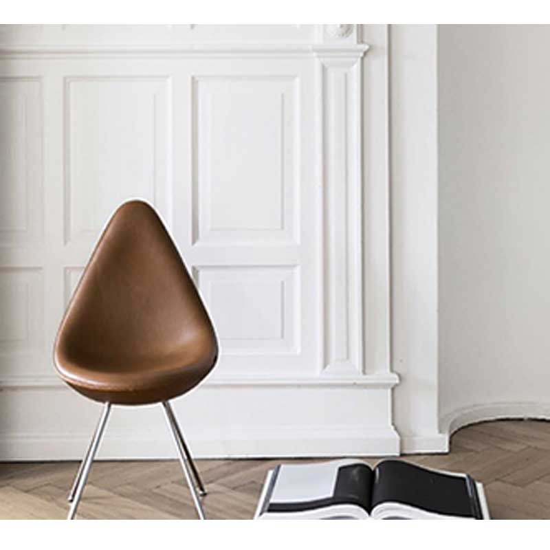 Drop chair arne jacobsen style 4 furnishplus for Arne jacobsen drop chair