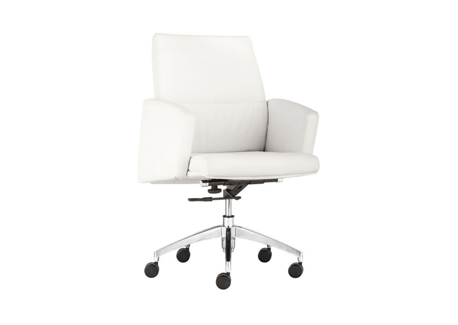 Chieftain-Low-Back-Office-Chair-White1
