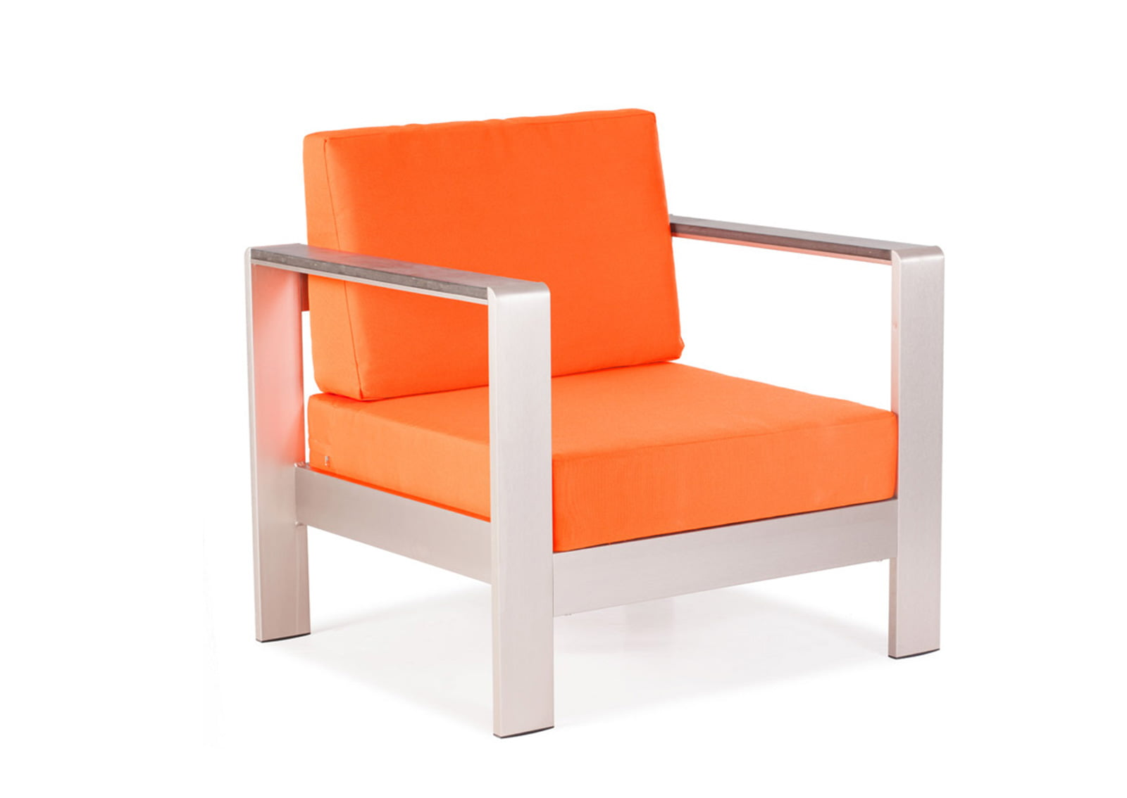 Cosmopolitan Arm Chair Cushions Orange