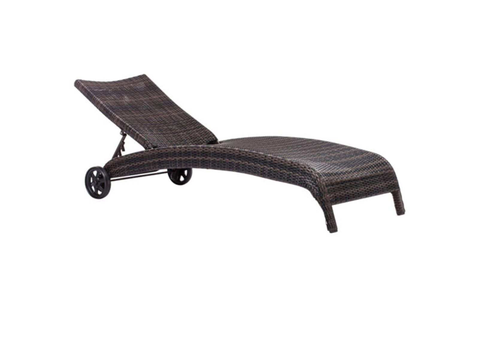 Lido chaise lounge brown furnishplus for Brown chaise longue