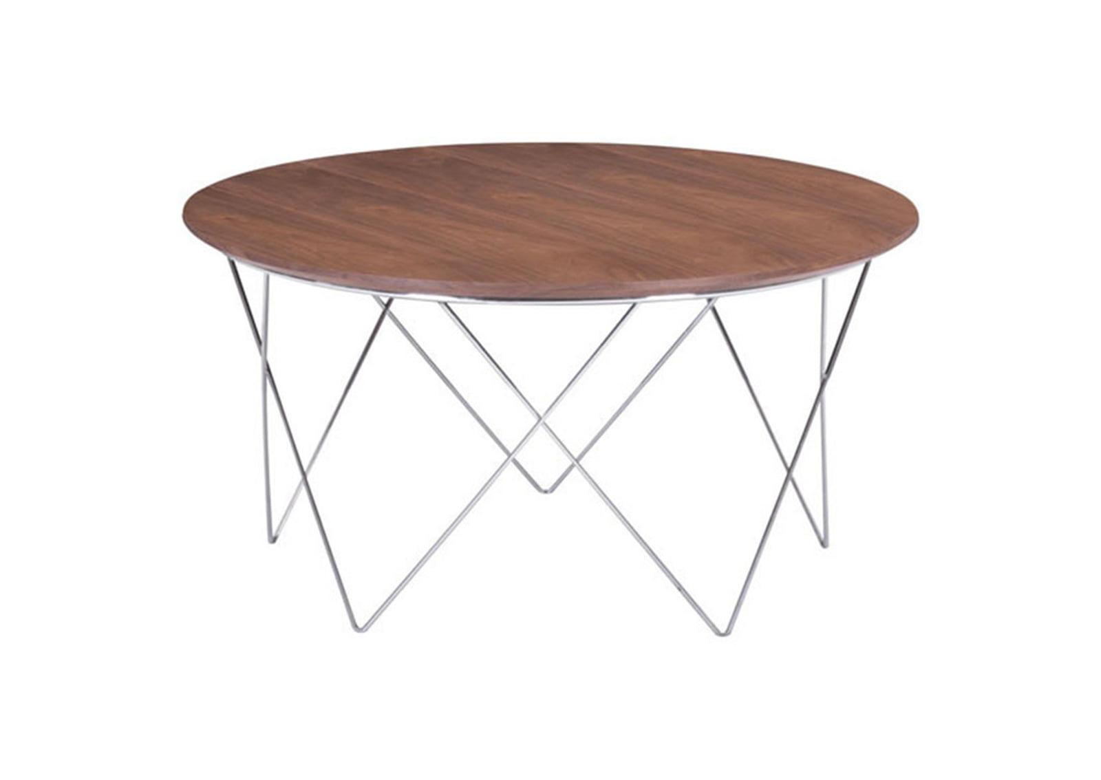 Macho Coffee Table Walnut Furnishplus