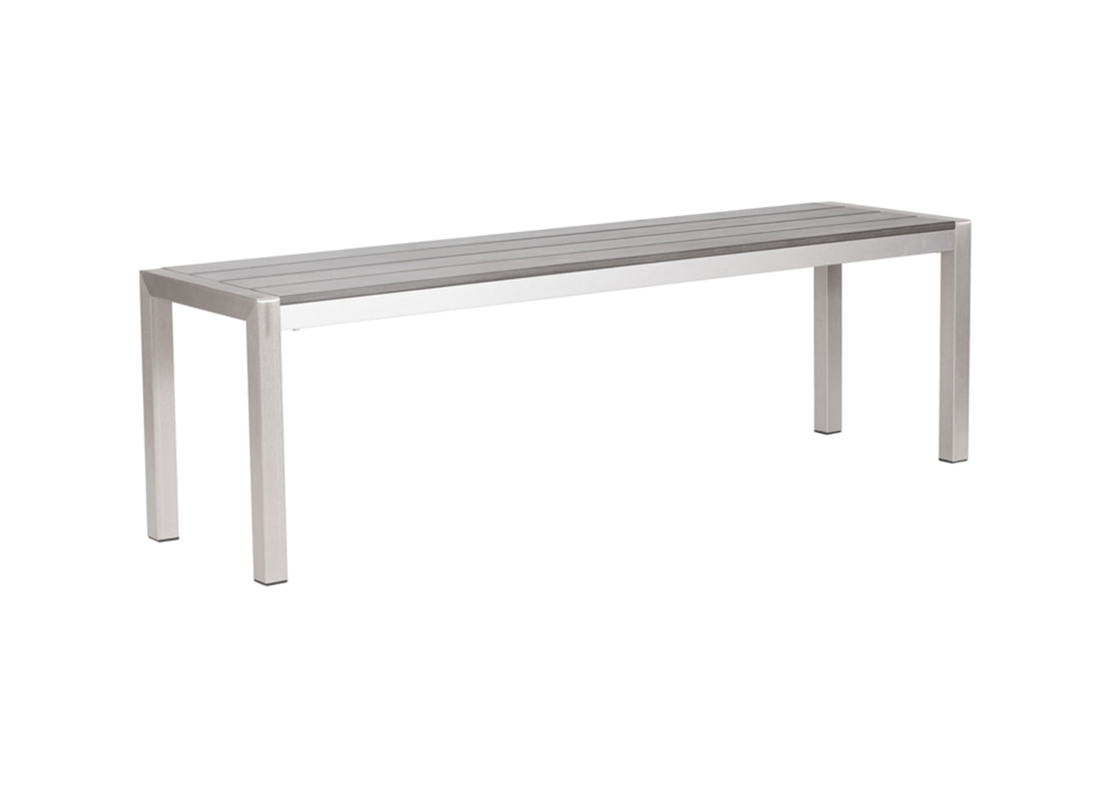 Metropolitan-Double-Bench-Brushed-Aluminum2