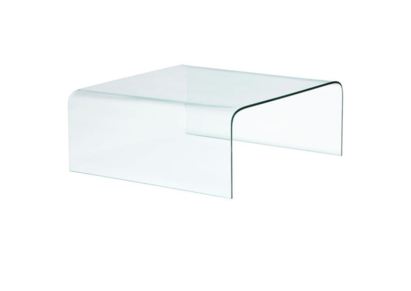 Sojourn coffee table clear furnishplus for Clear coffee table