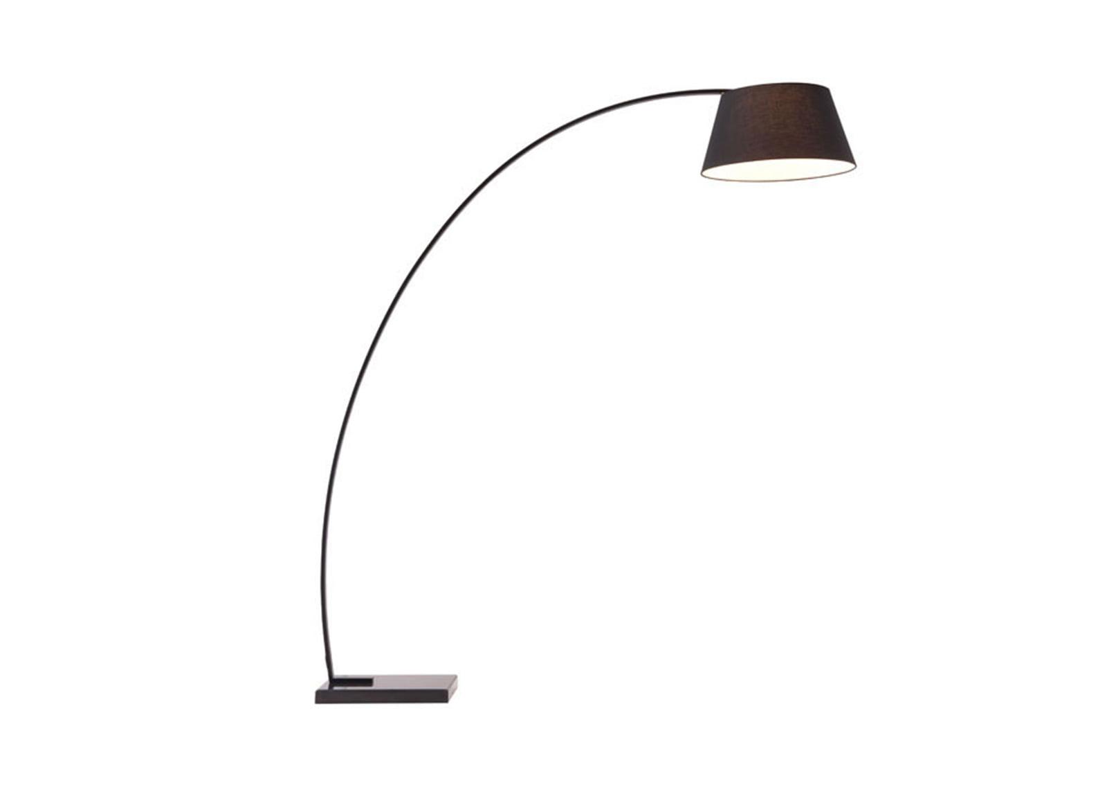 Vortex Floor Lamp Black Furnishplus