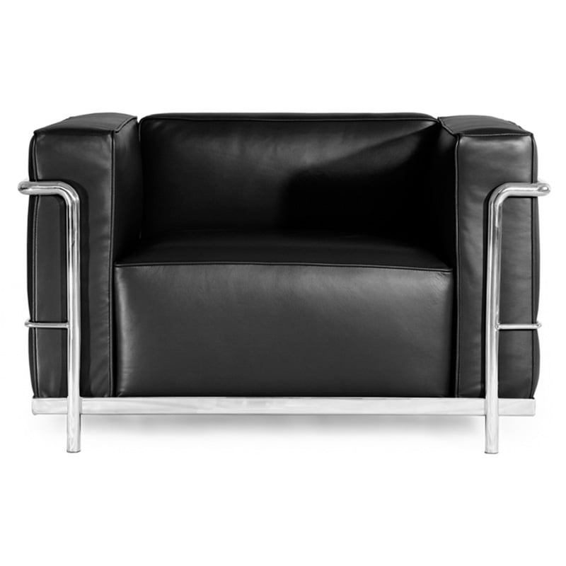 lc4 chaise lounge le corbusier style furnishplus. Black Bedroom Furniture Sets. Home Design Ideas