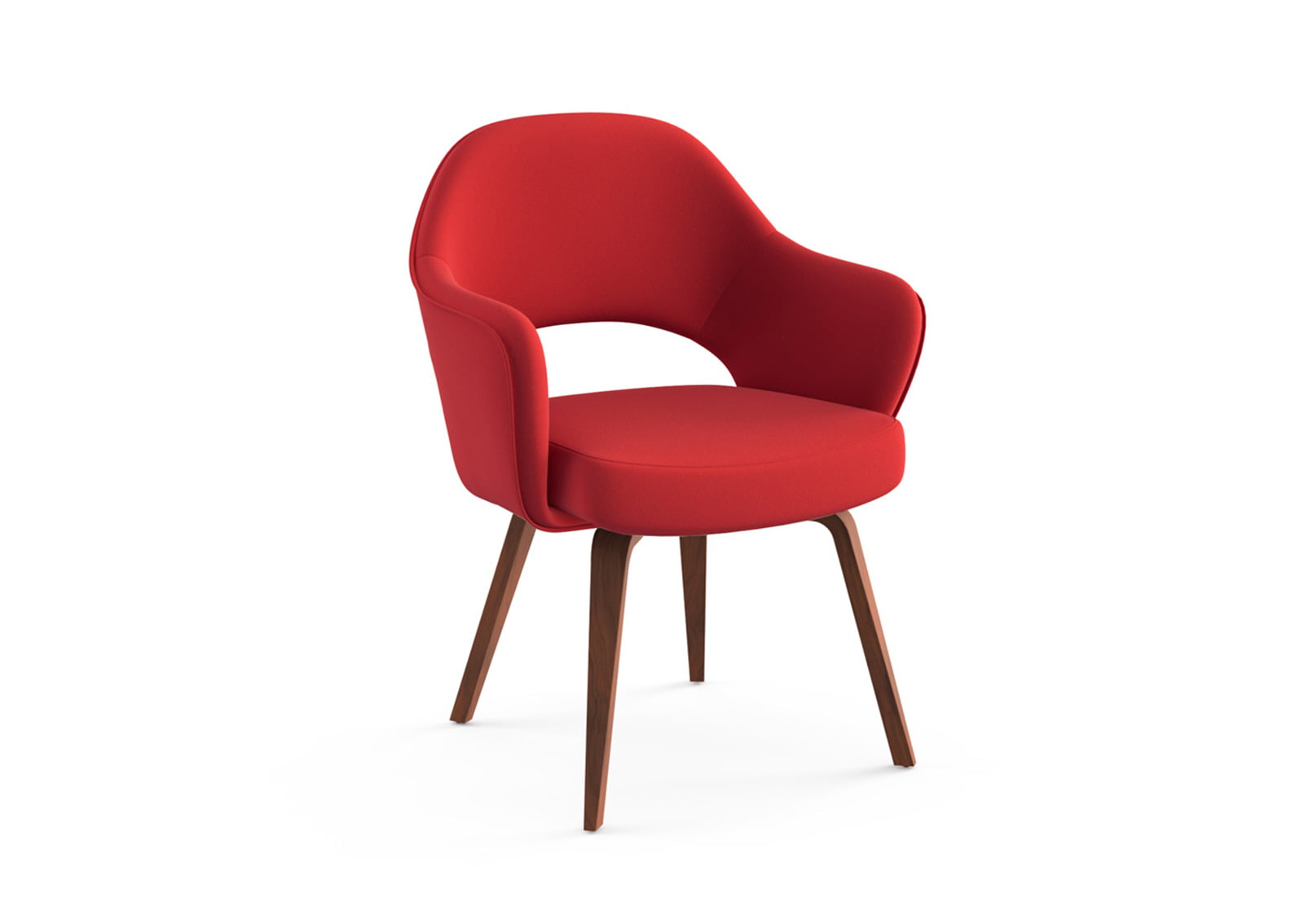 Saarinen Executive Armchair (Wooden Legs)