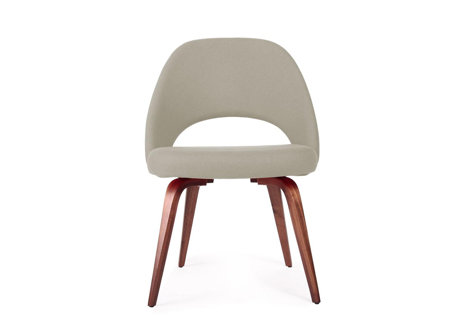 Saarinen Executive Side Chair Wooden Legs