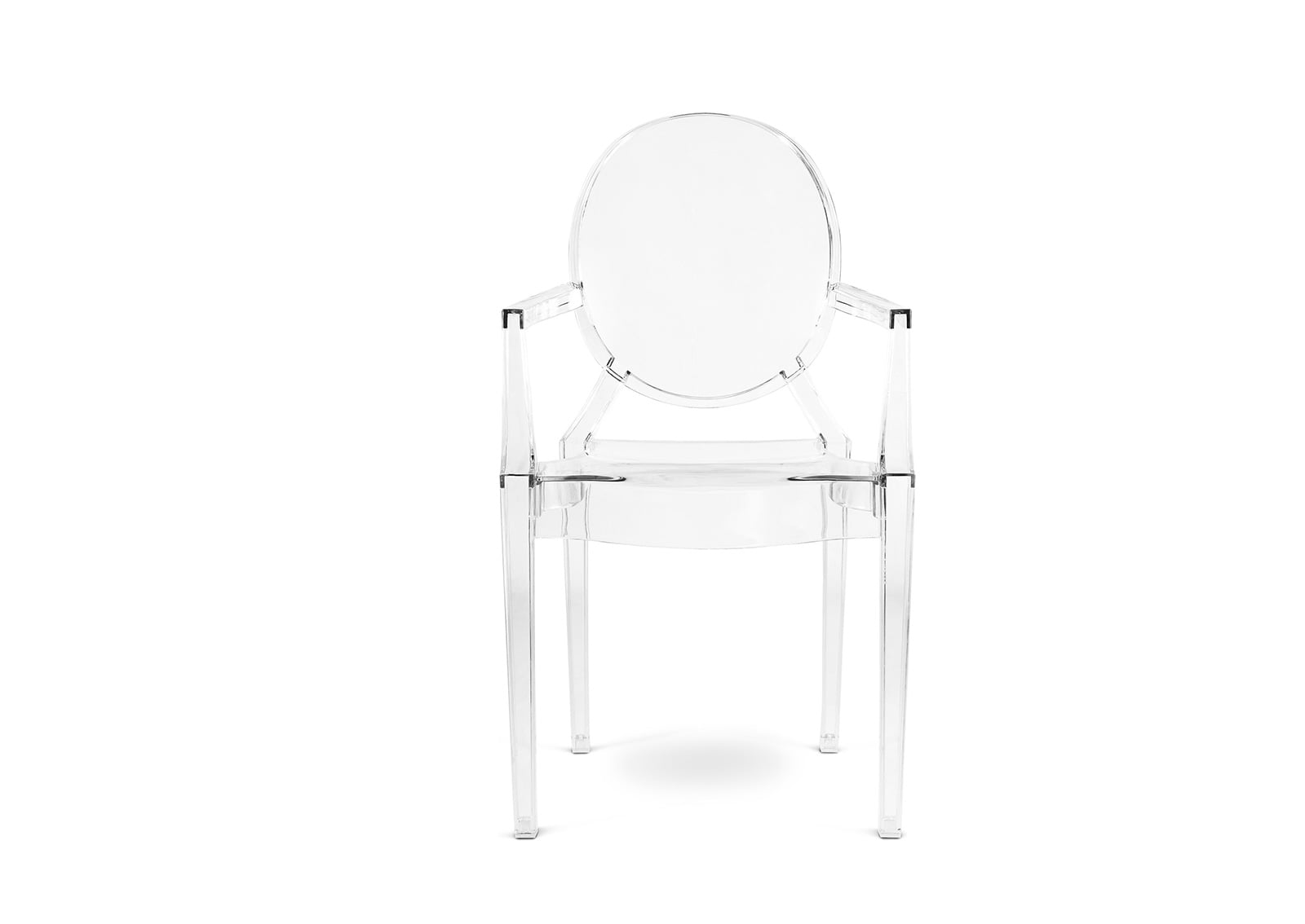 up close archair louis grey ghost clear armchair products transparent kanvass dining chair smoke