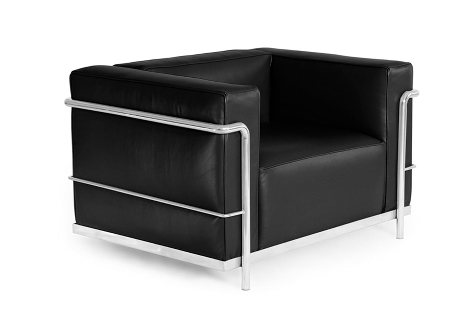 lc3 chair le corbusier style furnishplus. Black Bedroom Furniture Sets. Home Design Ideas