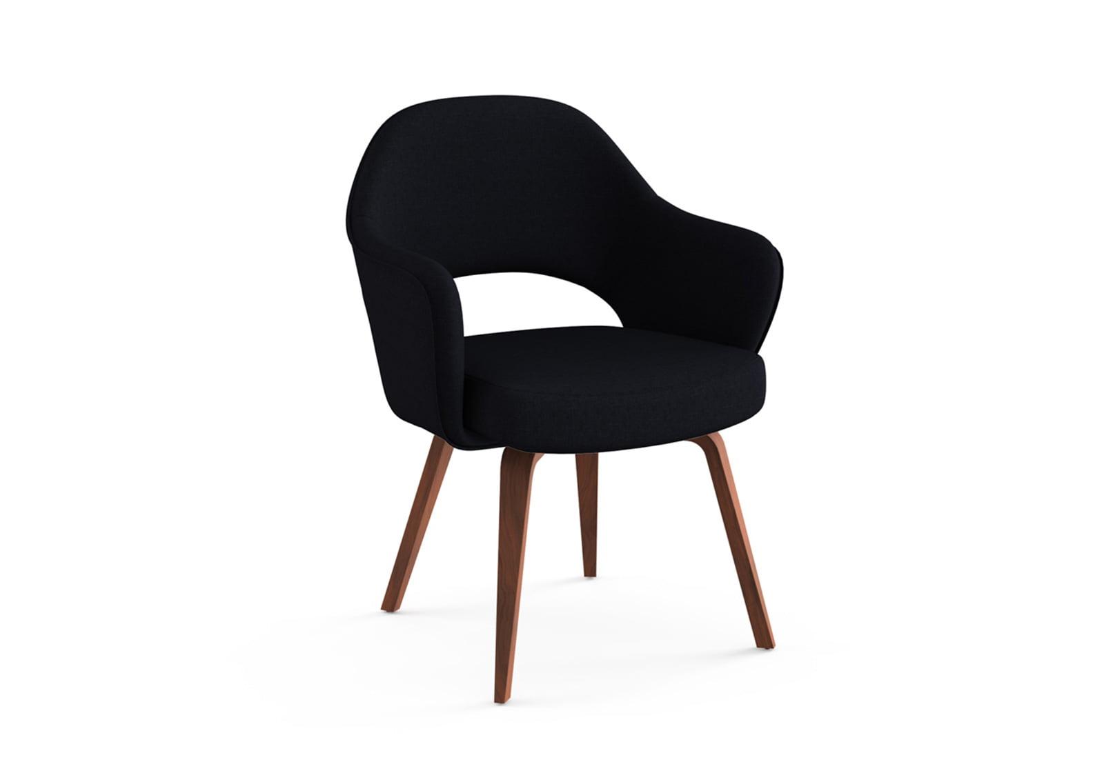 Superb Saarinen Executive Armchair (Wooden Legs)